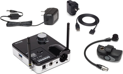 Samson Airline AWXMicro Wind Instrument Wireless Microphone System, Channel K