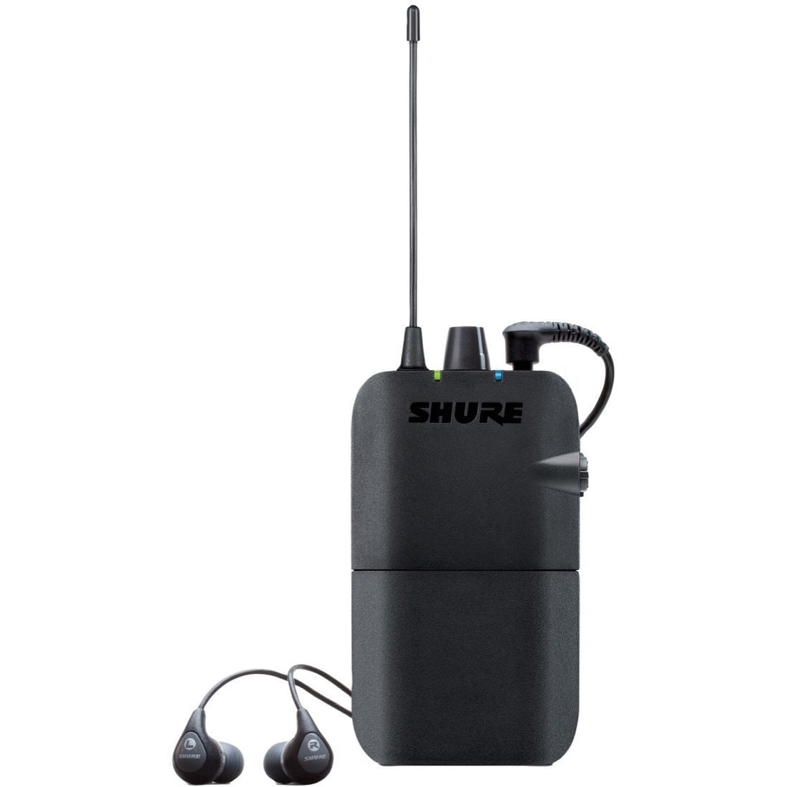 Shure PSM300 IEM Wireless In-Ear Monitor System with SE112 Earphones, Band J13 (566.175 - 589.850 MHz)
