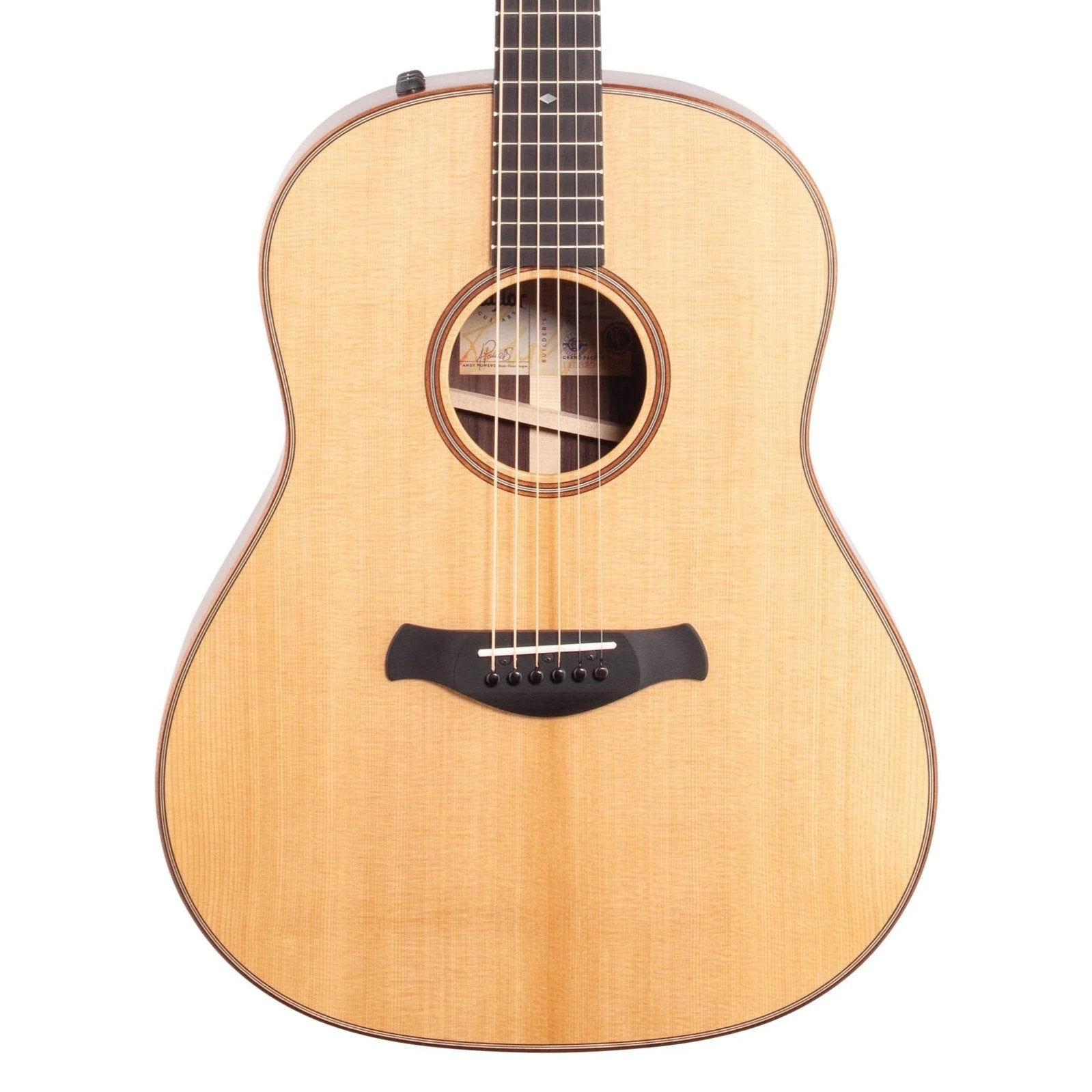 Taylor 717e Builder's Edition Grand Pacific Acoustic-Electric Guitar (with Case), Natural