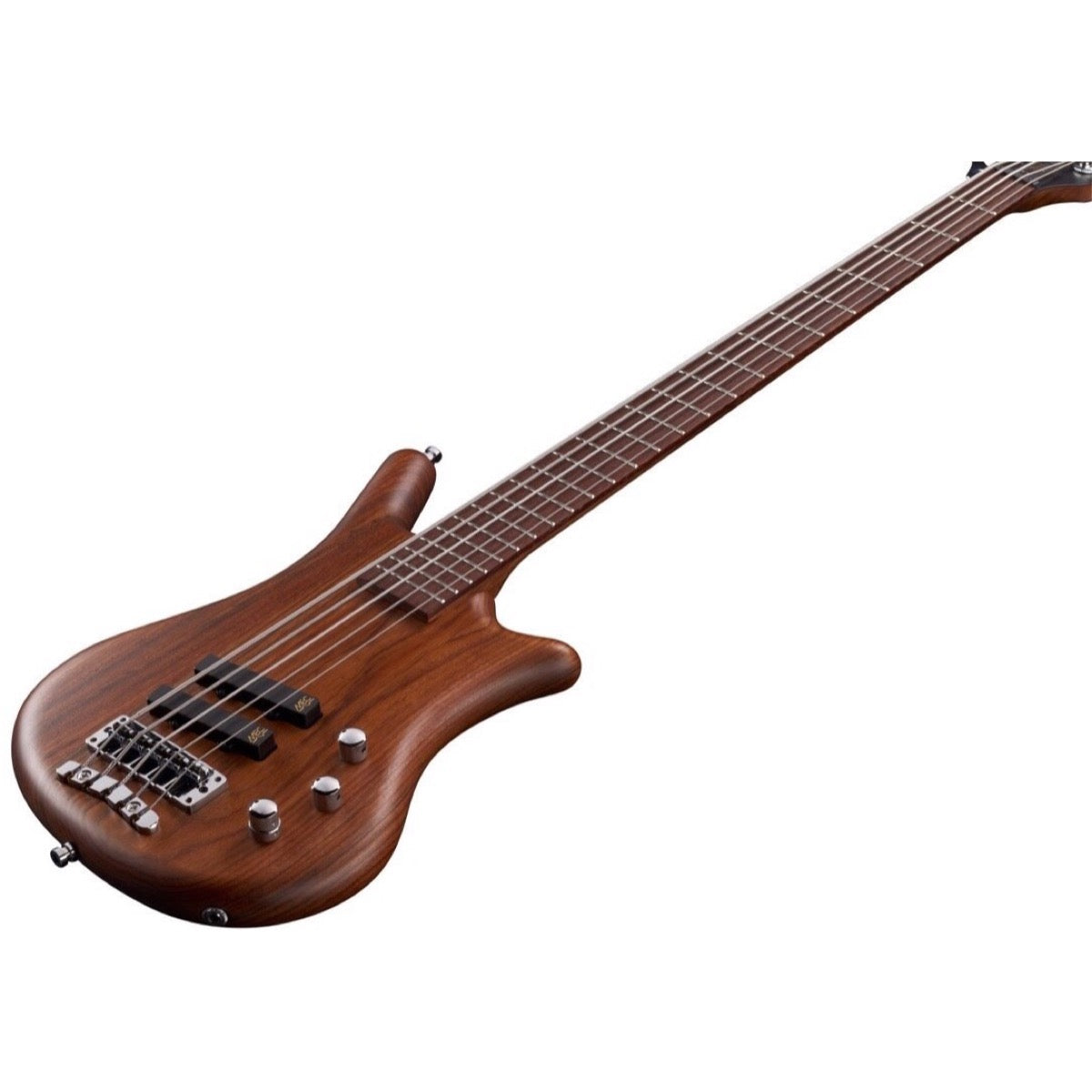 Warwick GPS German Pro Series Thumb BO 5 Electric Bass, 5-String (with Gig Bag), Natural