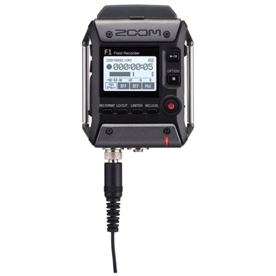 Zoom F1-LP F1 Portable Field Recorder with Lavalier Microphone