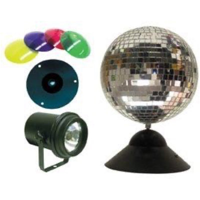 ADJ MB8 Combo Mirror Ball Package, 8 Inch