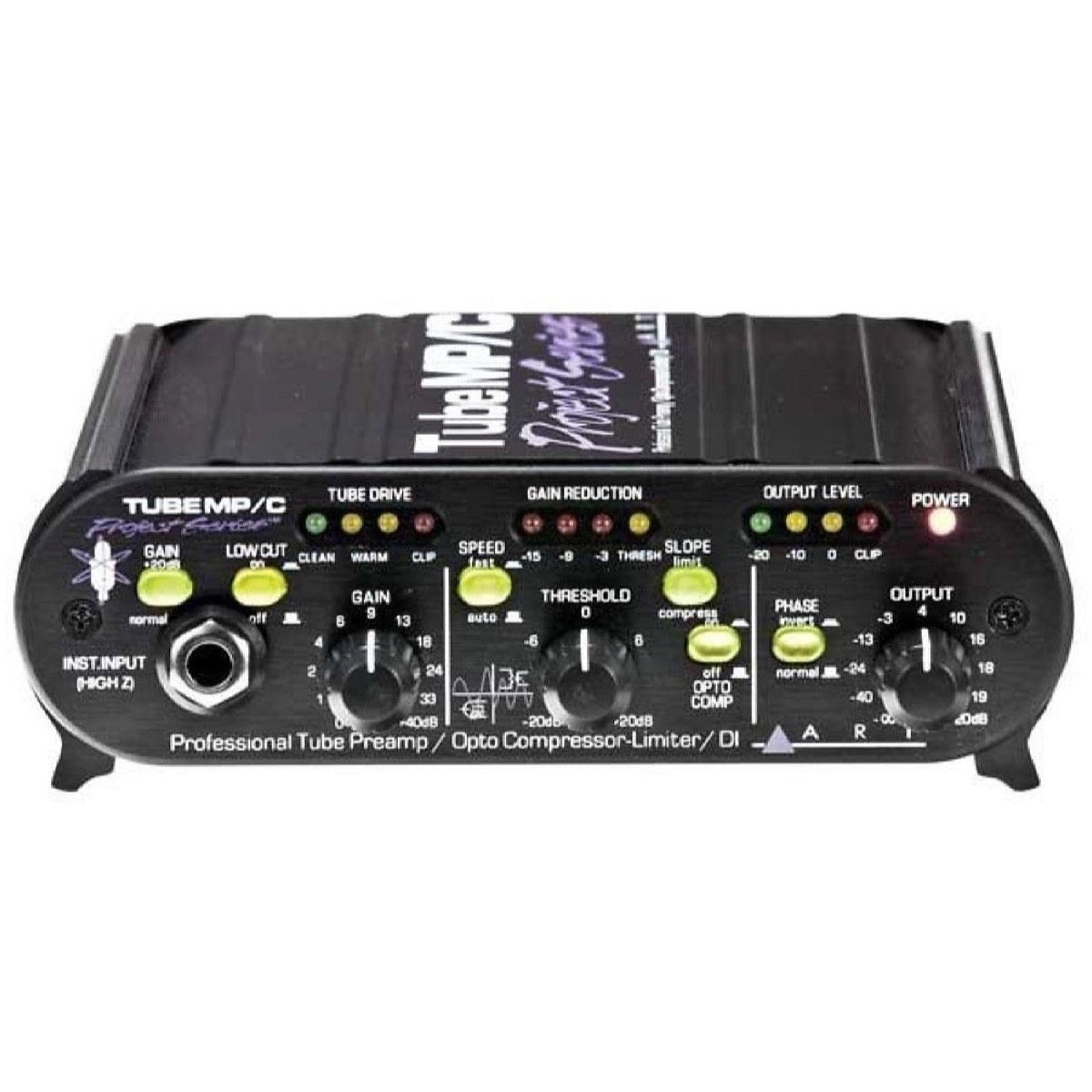 ART Tube MPC Microphone Preamplifier and Compressor