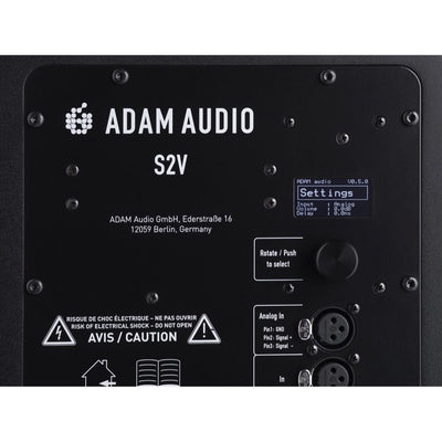 Adam Audio S2V Active Nearfield Studio Monitor