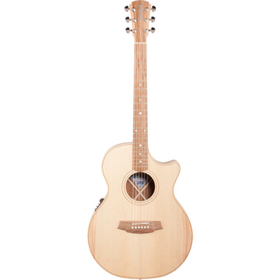 Cole Clark Angel 1 Series E Bunya-Queensland Maple Acoustic-Electric Guitar (with Case)
