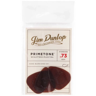 Dunlop 510P Primetone Standard Guitar Picks, 510P.73, 3-Pack, .73mm