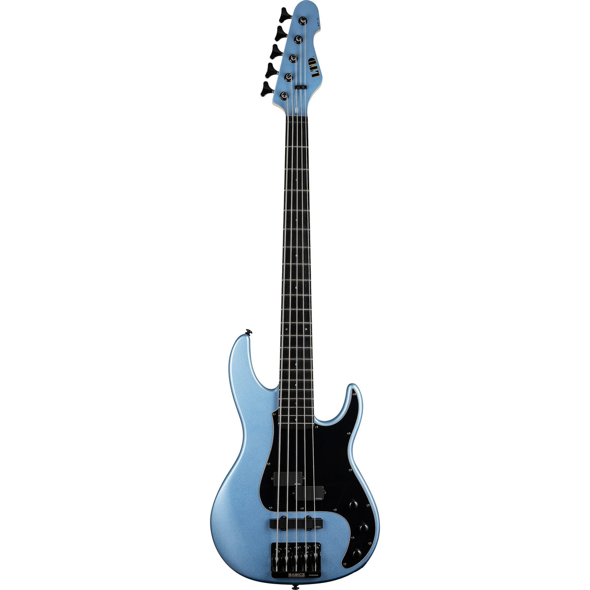 ESP LTD AP-5 Electric Bass, 5-String, Pelham Blue