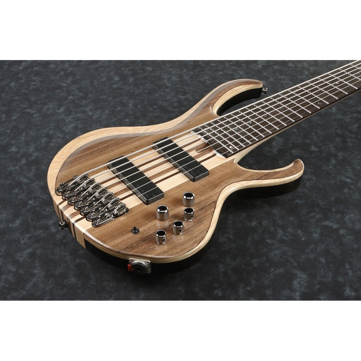 Ibanez BTB747 Bass Workshop Electric Bass, 7-String, Natural Low Gloss