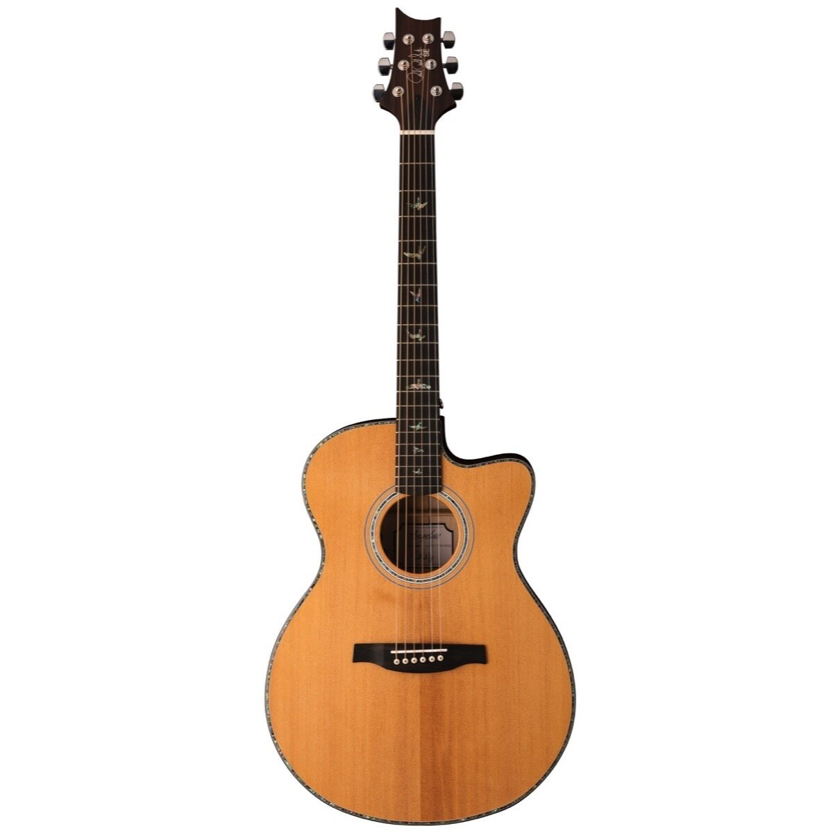PRS Paul Reed Smith SE Angelus A50E Acoustic-Electric Guitar (with Case), Natural