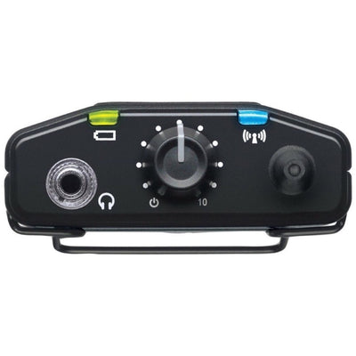 Shure P3RA PSM300 Pro Wireless In-Ear Monitor Receiver, Band J13 (566.175 - 589.850 MHz)