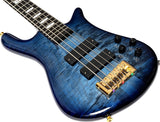 Load image into Gallery viewer, Spector Euro5 LT Electric Bass, 5-String (with Gig Bag), Blue Fade Gloss