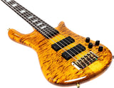 Load image into Gallery viewer, Spector Euro5 LT Electric Bass, 5-String (with Gig Bag), Tiger Eye Gloss