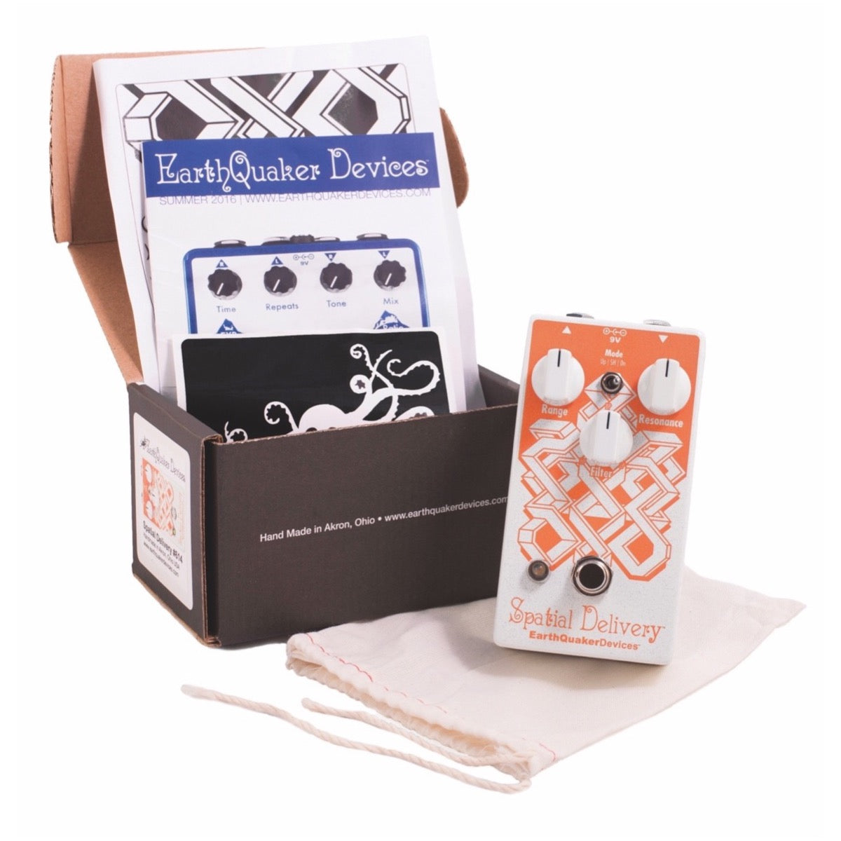 EarthQuaker Devices Spatial Delivery V2 Envelope Filter Pedal