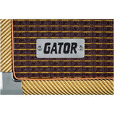 Load image into Gallery viewer, Gator GR-RETRORACK Vintage Amp Vibe Rack Case, Tweed, GR-RETRORACK-2TW, 2-Space