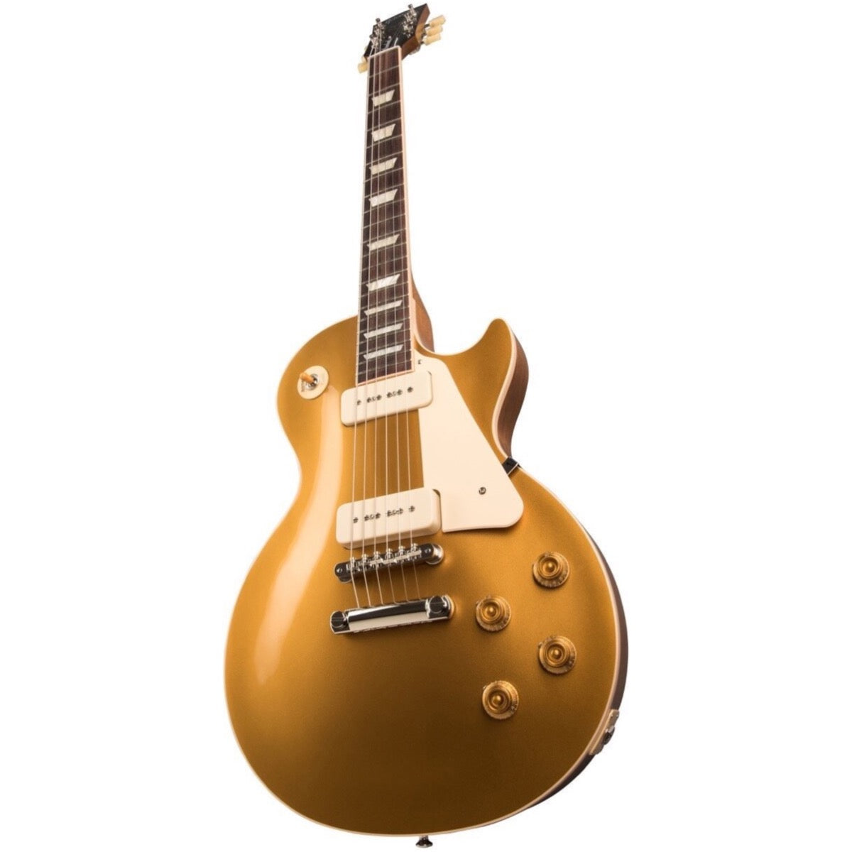 Gibson Les Paul Standard '50s P90 Gold Top Electric Guitar (with Case)