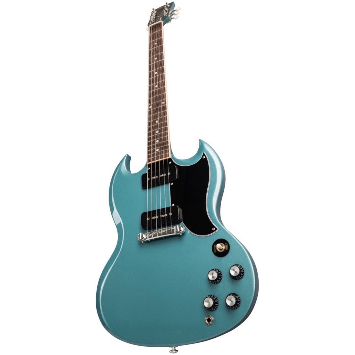 Gibson SG Special Electric Guitar (with Case), Faded Pelham Blue