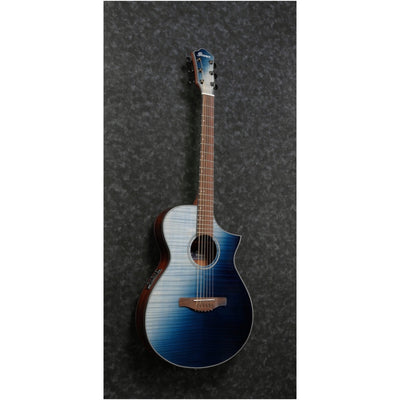 Ibanez AEWC32 Acoustic-Electric Guitar, Indigo Sunset