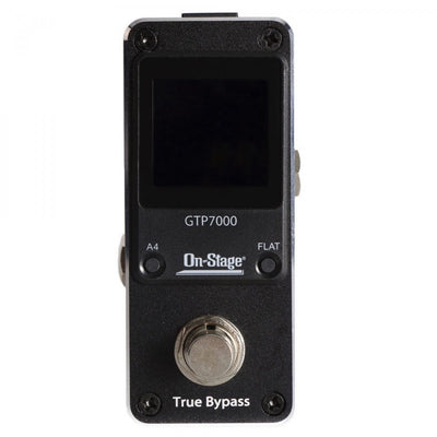 On-Stage GTP7000 Mini Guitar Pedal Tuner