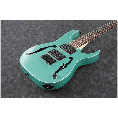 Ibanez PGMM21 Paul Gilbert Signature Mikro Electric Guitar, Metallic Green