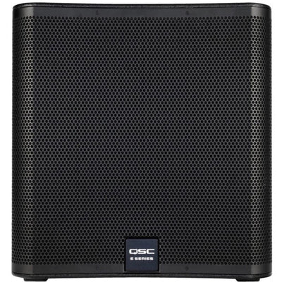 QSC E118sw Passive, Unpowered Subwoofer (800 Watts, 1x18 Inch), Black
