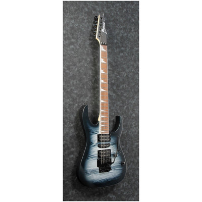 Ibanez RG470DX Electric Guitar, Black Planet Matte
