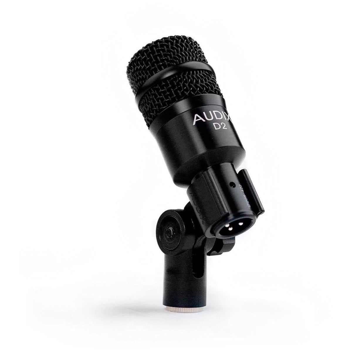 Audix D2 Dynamic Hypercardioid Instrument Microphone, 3-Pack, with 3 Audix D-Vice Clips
