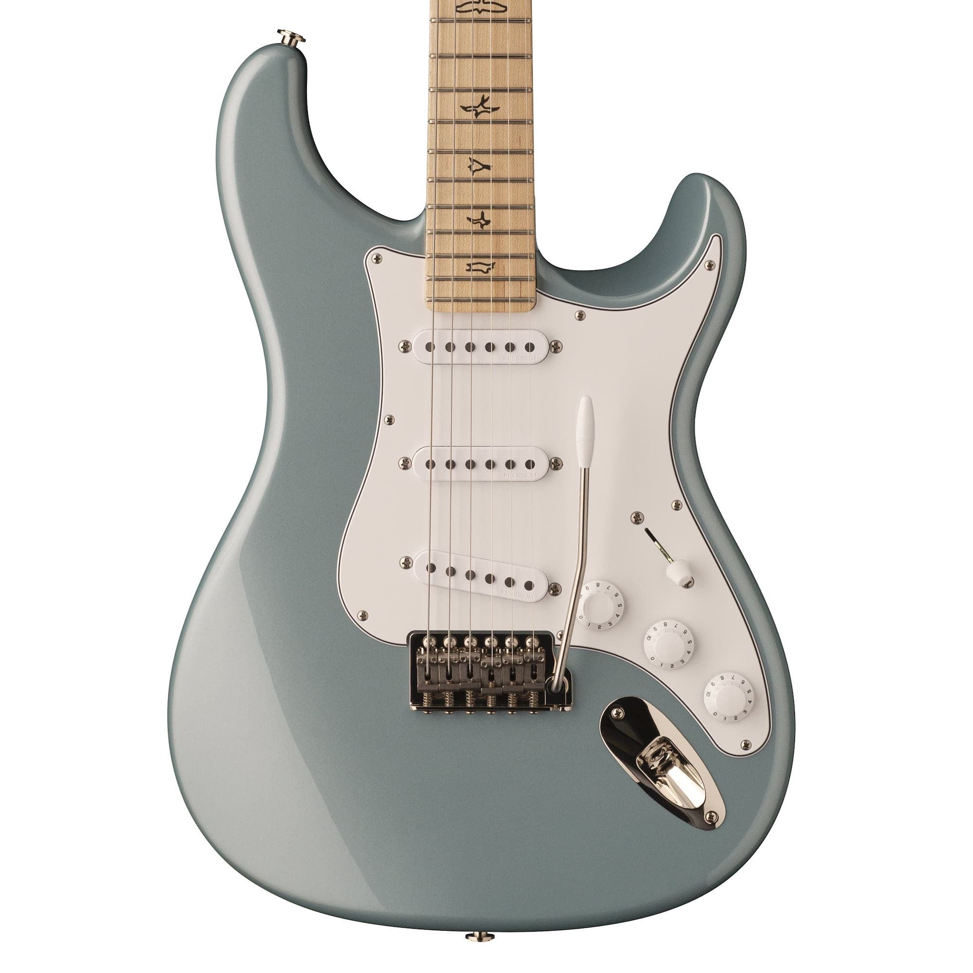 PRS Paul Reed Smith John Mayer Silver Sky Electric Guitar, Maple Fretboard, Polar Blue (with Gig Bag)-1