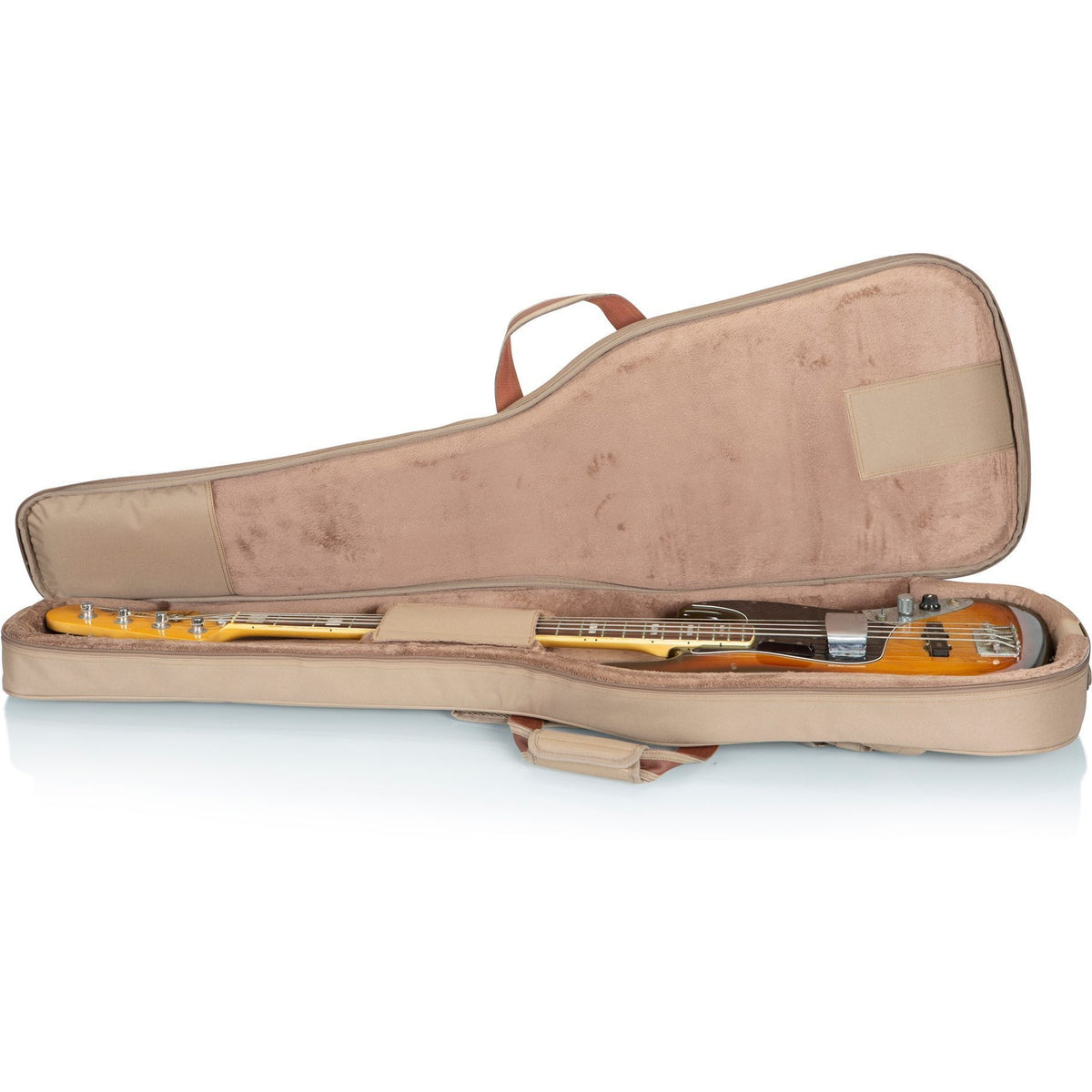 Levy's 200-Series Deluxe Electric Bass Gig Bag, Tan