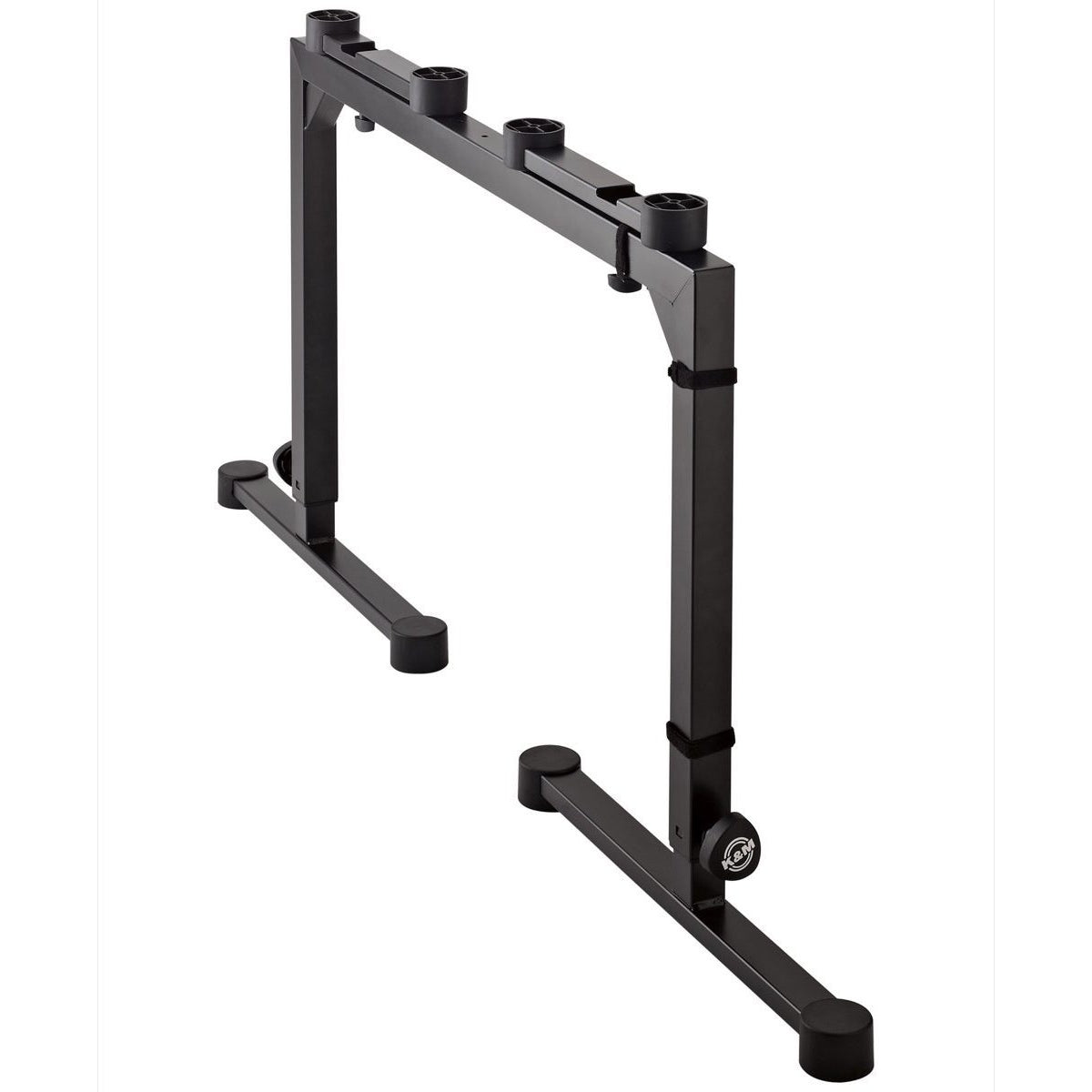 K&M Omega Table-Style Keyboard Stand, Black