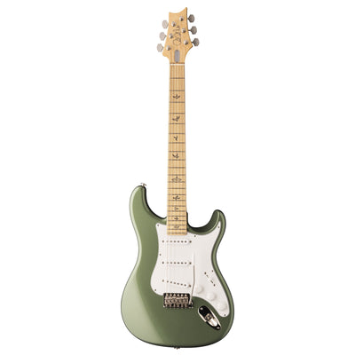 PRS Paul Reed Smith John Mayer Silver Sky Electric Guitar, Maple Fretboard, Orion Green (with Gig Bag)-2