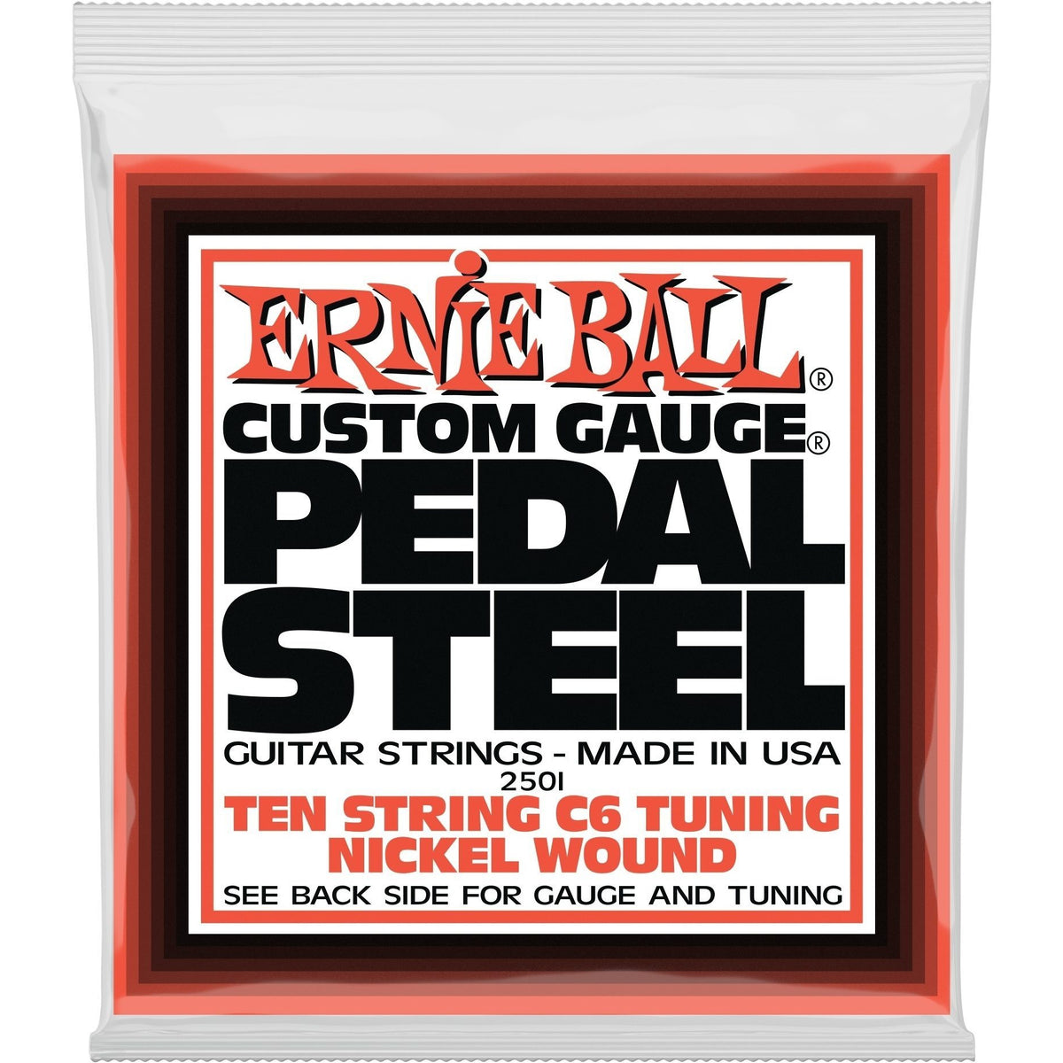 Ernie Ball Pedal Steel Strings, C6 Tuning