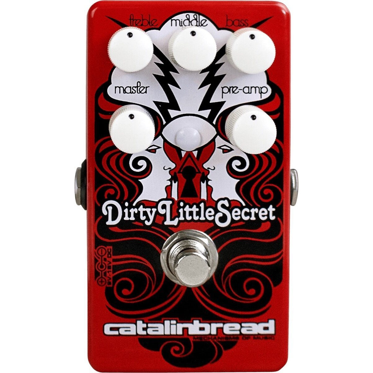 Catalinbread Dirty Little Secret Red Overdrive Pedal