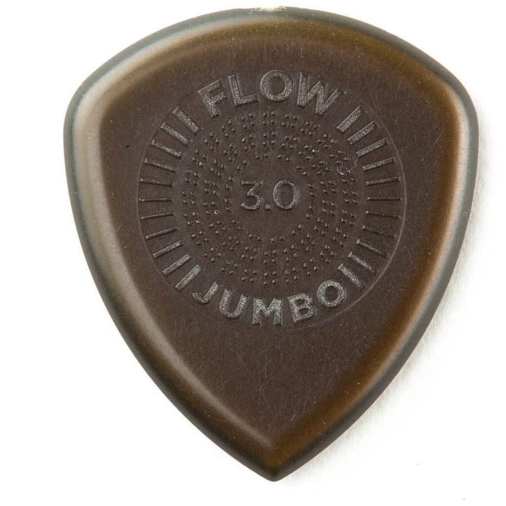 Dunlop Flow Jumbo Ultex Guitar Picks (3-Pack), 3mm