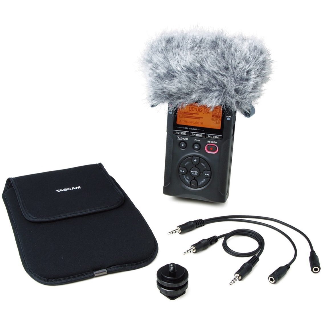 Tascam AK-DR11C Handheld DR-series DSLR Filmmaking Accessory Package