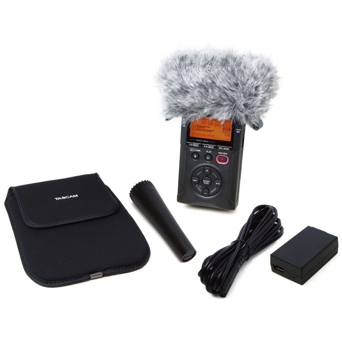 Tascam AK-DR11G MKII Handheld DR-Series Recording Accessory Package