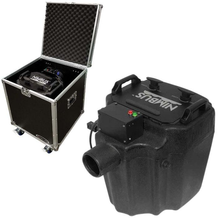 Chauvet DJ Nimbus Dry Ice Fog Machine, with Odyssey Case