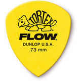Load image into Gallery viewer, Dunlop 558 Tortex Flow Guitar Picks (12 Pack), 0.73mm