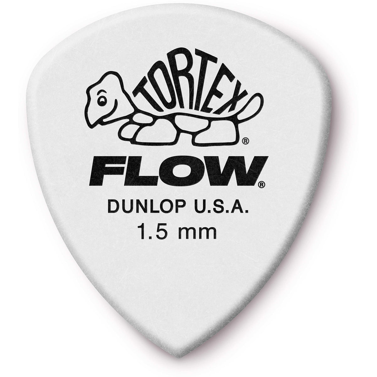 Dunlop 558 Tortex Flow Guitar Picks (12 Pack), 1.50mm