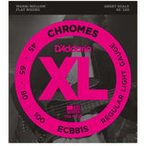 Load image into Gallery viewer, D'Addario ECB81S Chromes Flatwound Bass String (Regular Light, Short Scale)