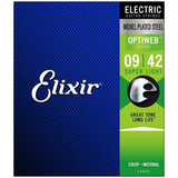 Load image into Gallery viewer, Elixir OptiWeb Electric Guitar Strings, Super Light