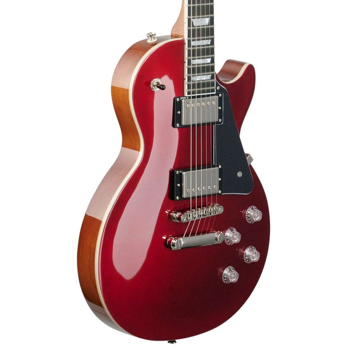 Epiphone Les Paul Modern Electric Guitar, Sparkling Burgundy