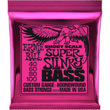 Load image into Gallery viewer, Ernie Ball Super Slinky Nickel Wound Short Scale Electric Bass Strings, 40-100