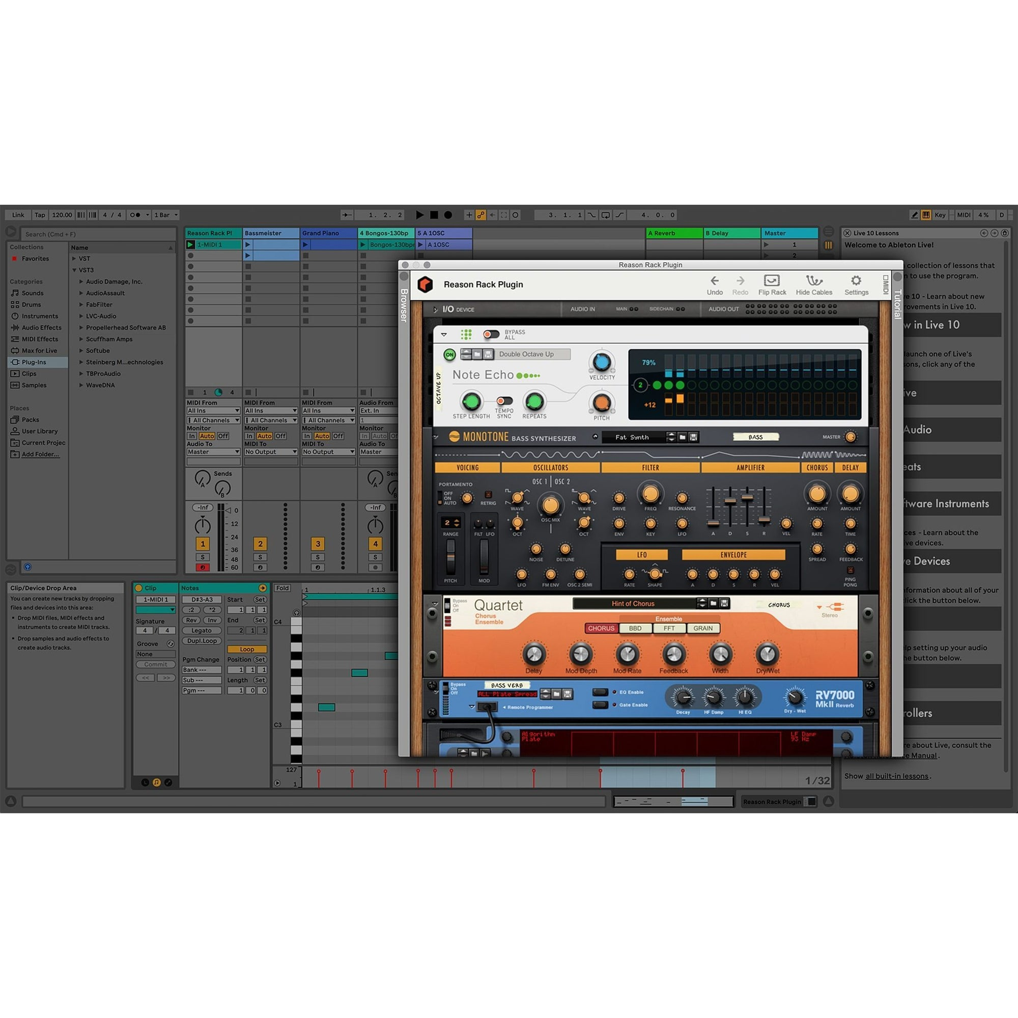 Reason 11 Standard Music Production Software