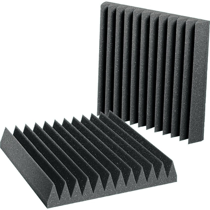 "Auralex 2"" Studiofoam Wedgie 12x12 Tile (Gray, Single)"