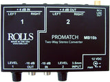 Load image into Gallery viewer, Rolls MB15b ProMatch Stereo Signal Converter Direct Box