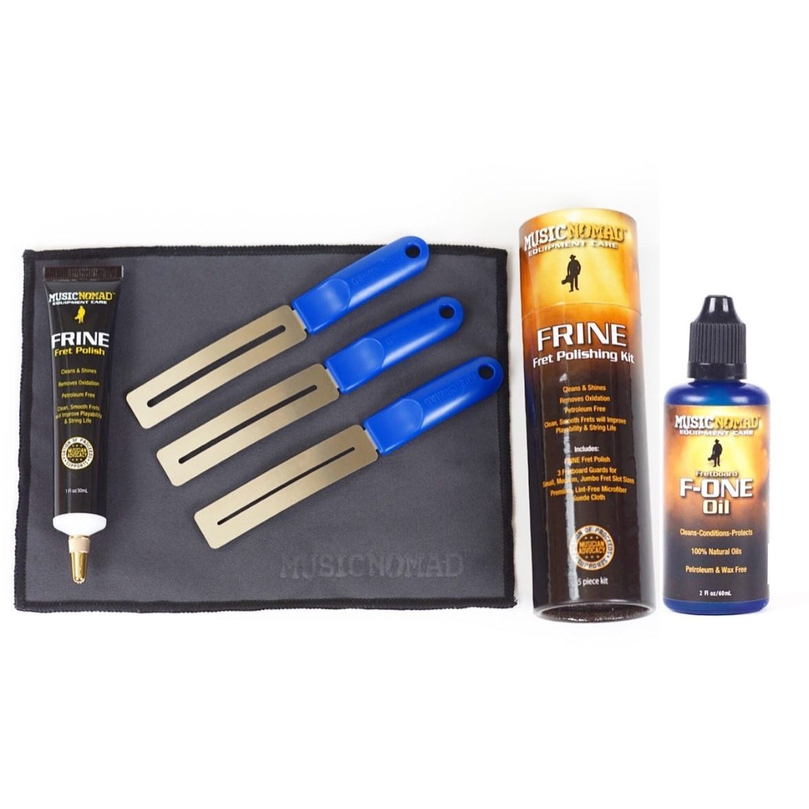 Music Nomad MN144 Total Fretboard Care Kit