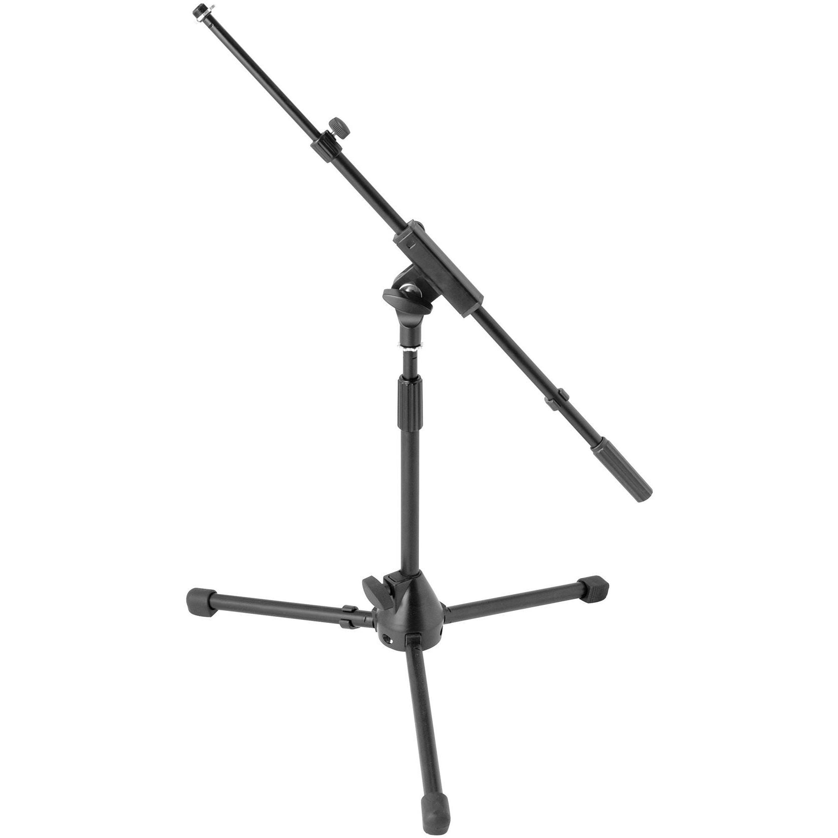 On-Stage MS7411TB Drum and Amplifier Tripod Microphone Boom Stand