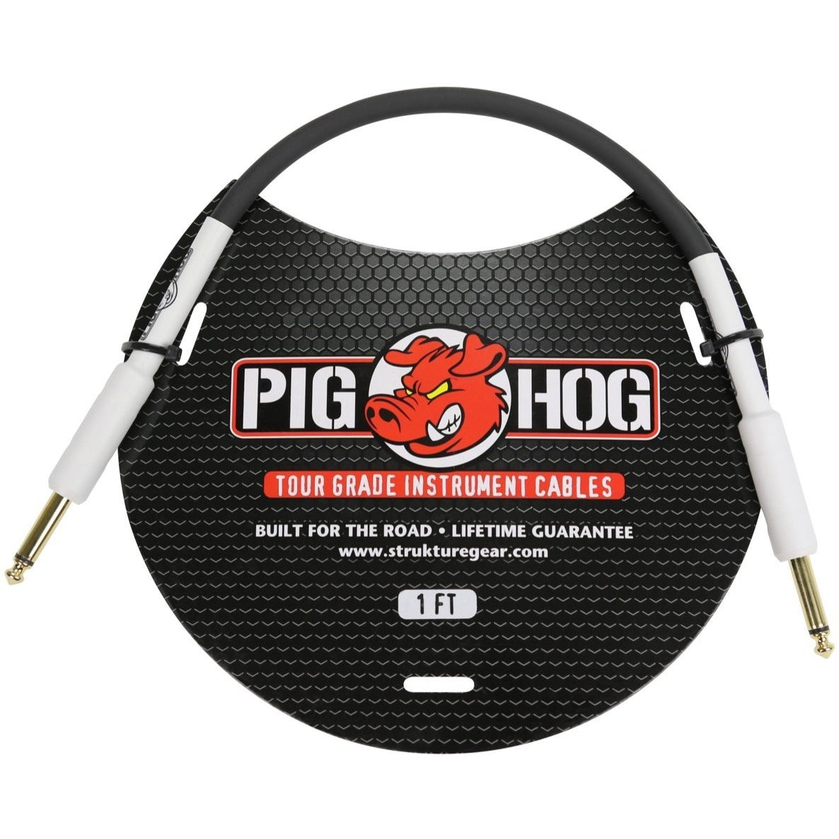 Pig Hog Instrument Cable, 1'