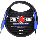 Load image into Gallery viewer, Pig Hog 1/4 Inch Speaker Cable, 3 Foot