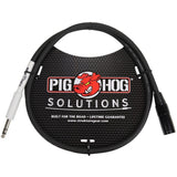 Load image into Gallery viewer, Pig Hog XLR (Male) to 1/4 Inch TRS (Male) Adaptor Cable, 3 Foot